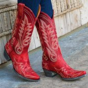 sexy-red-cowgirl-boots